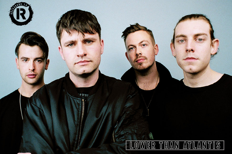 This Lower Than Atlantis poster is FREE with the latest issue of Rock Sound
