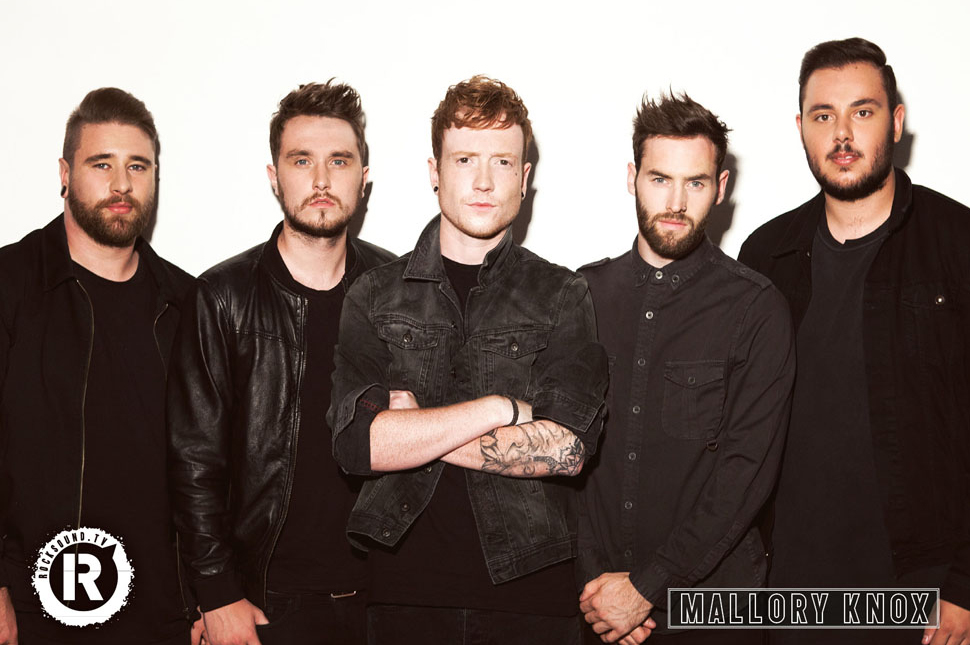 This Mallory Knox poster is FREE with the latest issue of Rock Sound
