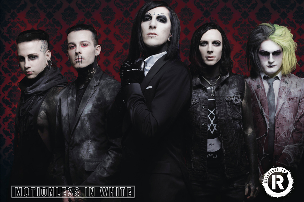 This Motionless In White poster is FREE with the latest issue of Rock Sound