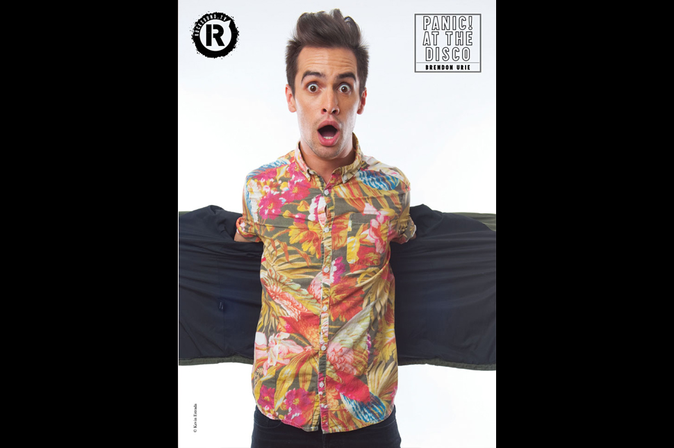 This Panic! At The Disco poster is FREE with the latest issue of Rock Sound
