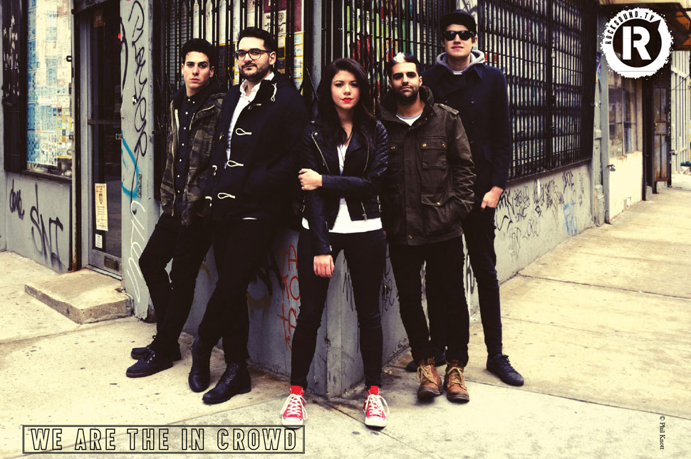 This We Are The In Crowd poster is FREE with the latest issue of Rock Sound