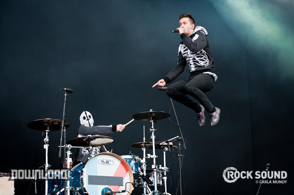 Gravity? Who Needs Gravity?! It's Twenty One Pilots At