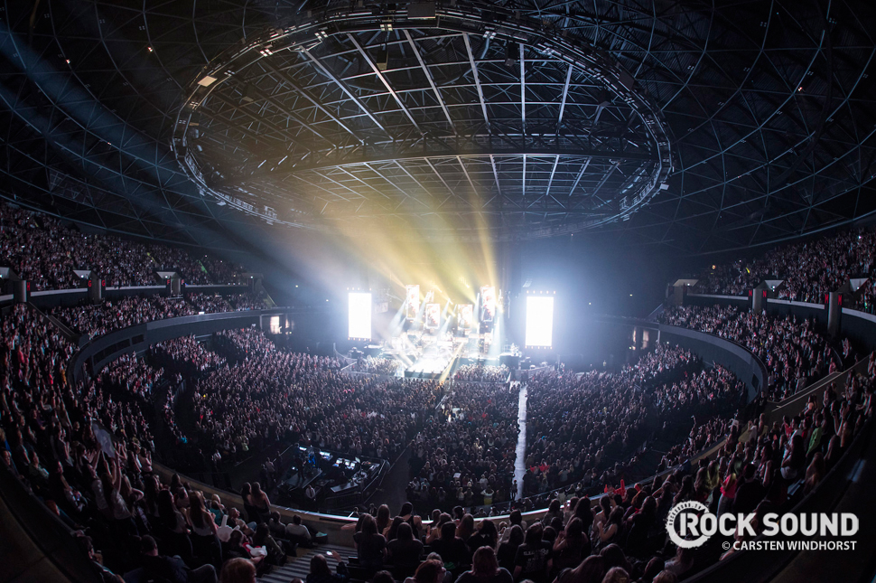 5 Seconds Of Summer, Glasgow Hydro, June 01 // Photo credit: Carsten Windhorst