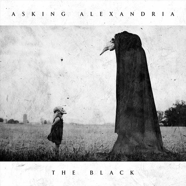 ASKING ALEXANDRIA - 'THE BLACK' Cover