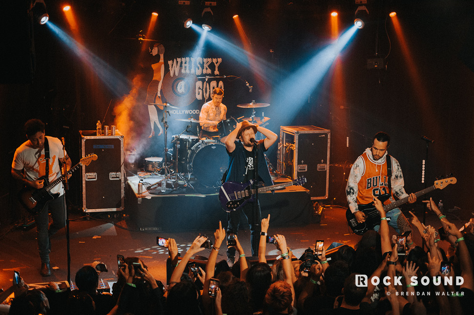 Fall Out Boy, Whisky A Go Go, Los Angeles, September 10 // Photo: Brendan Walter
