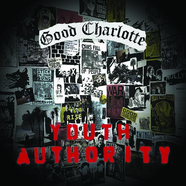 GOOD CHARLOTTE – 'YOUTH AUTHORITY' Cover