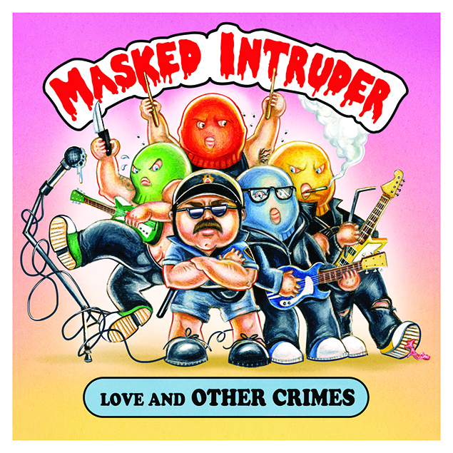 Masked Intruder – 'Love And Other Crimes' Cover