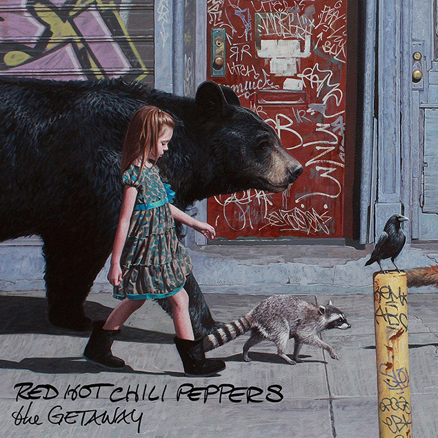 Red Hot Chili Peppers – 'The Getaway' Cover