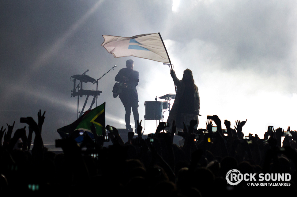 Thirty Seconds To Mars perform in Cape Town South Africa, November 2014 / Photo credit: Warren Talmarkes