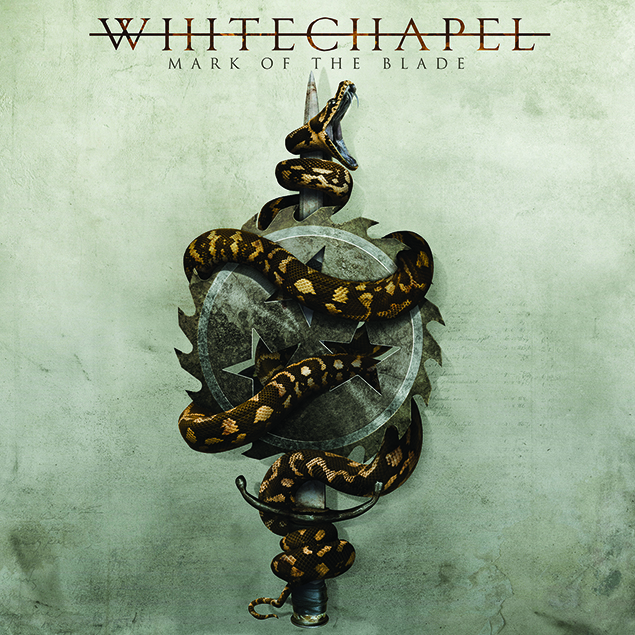Whitechapel – 'Mark Of The Blade' Cover