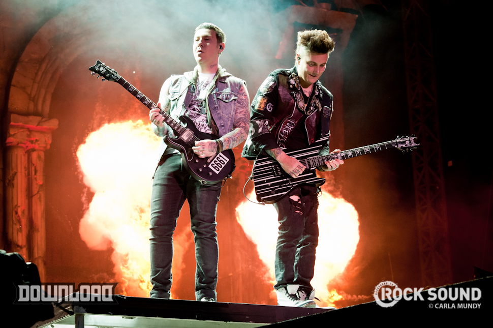 Avenged Sevenfold: bringing the heat to Download's main stage