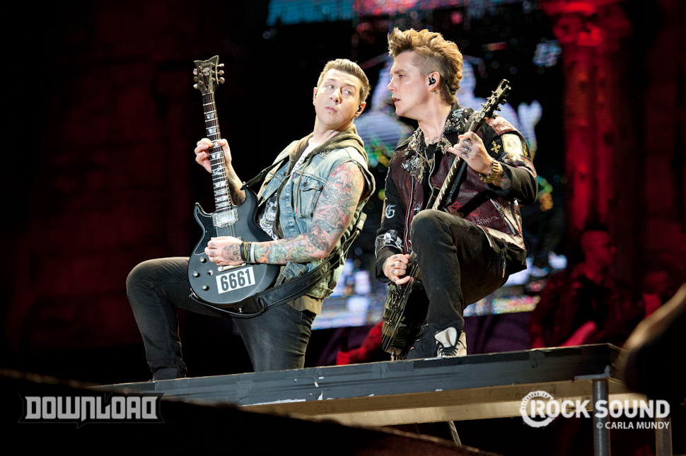 HOT STUFF! It's Avenged Sevenfold, Download Festival 2014