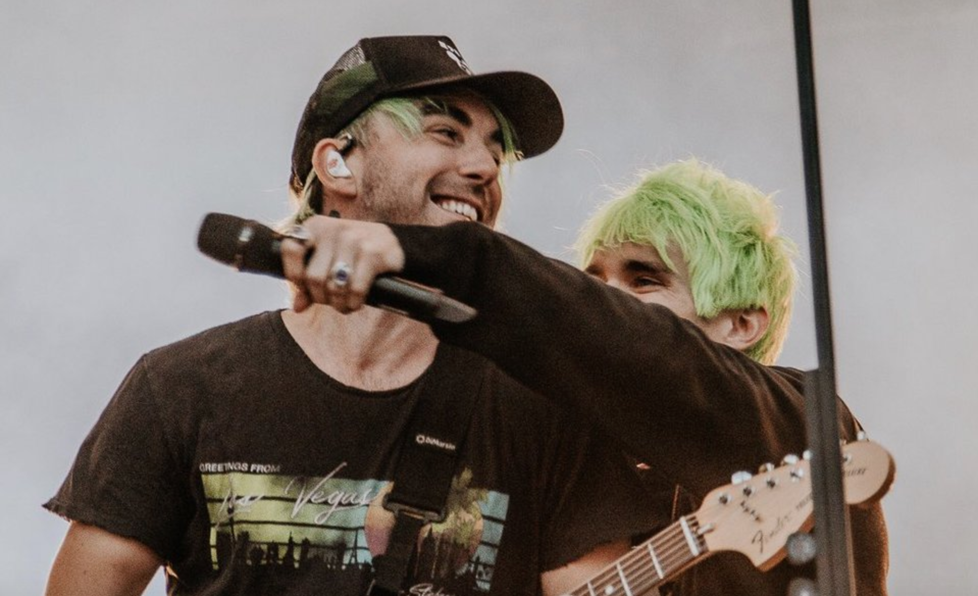 Watch Awsten Knight Join All Time Low On Stage Last Night
