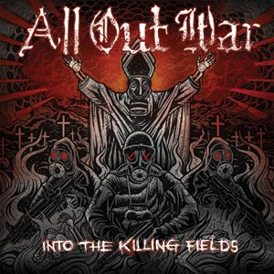 All Out War - Into The Killing Fields Cover