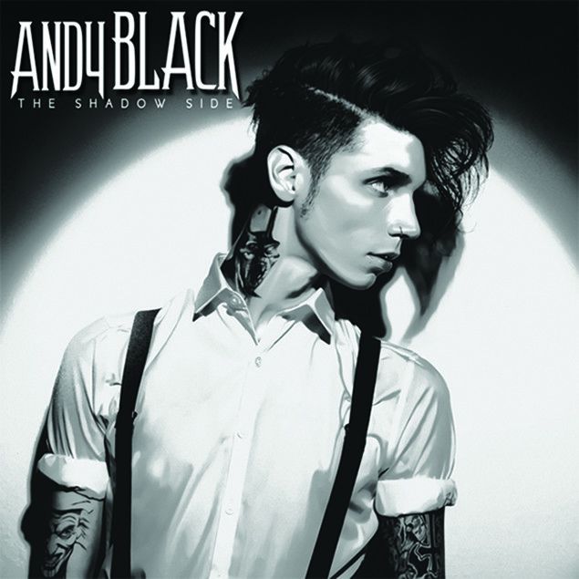 Andy Black – 'The Shadow Side' Cover