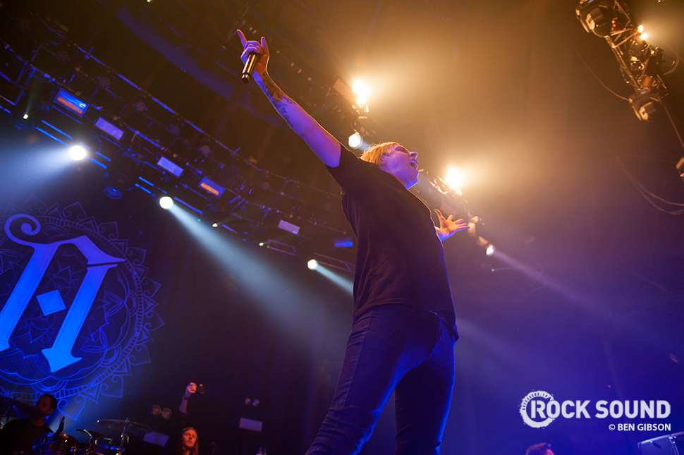 Architects at Camden's Roundhouse, March 14, 2015 // Photo credit: Ben Gibson