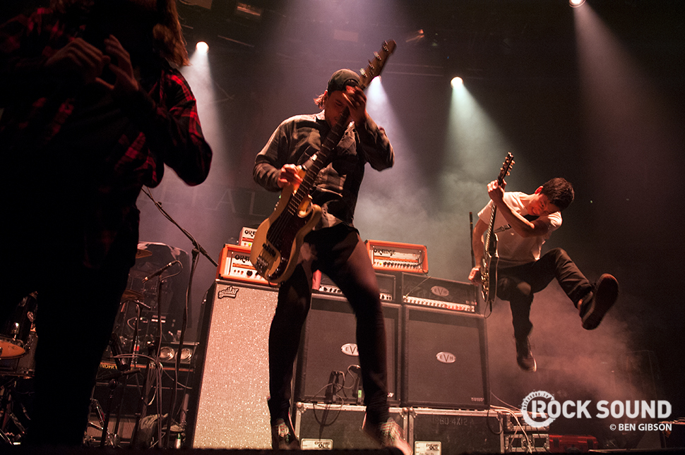 Counterparts at Camden's Roundhouse, March 14, 2015 // Photo credit: Ben Gibson