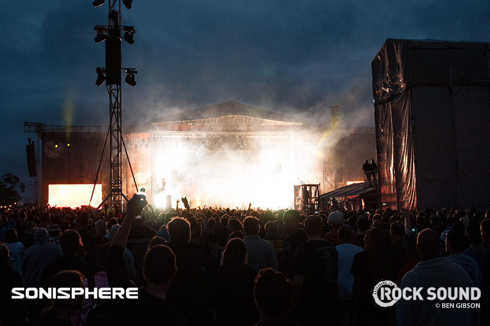 Closer to home, Sonisphere got underway at Knebworth. The Prodigy were there (in that blaze of fire and lasers, somewhere...)