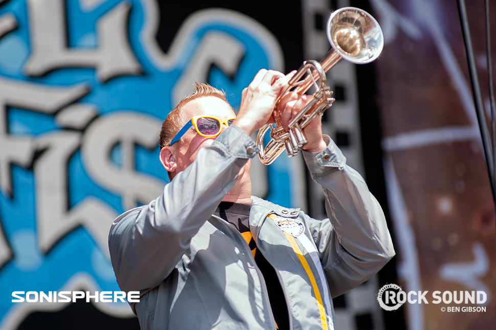 Reel Big Fish At Sonisphere 2014. All photos by Ben Gibson