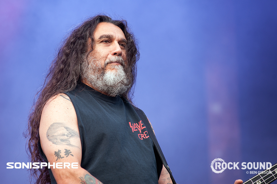 Slayer, Sonisphere 2014. Shot for Rock Sound by Ben Gibson.