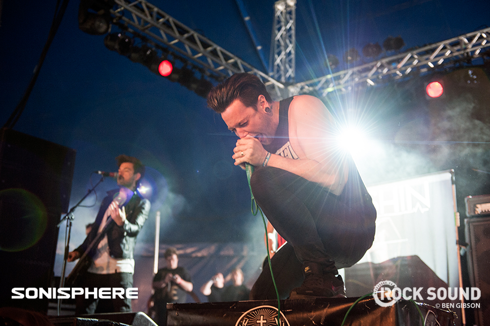 Yashin, Sonisphere 2014. Shot for Rock Sound by Ben Gibson.