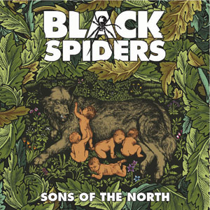 Black Spiders - Sons Of The North Cover