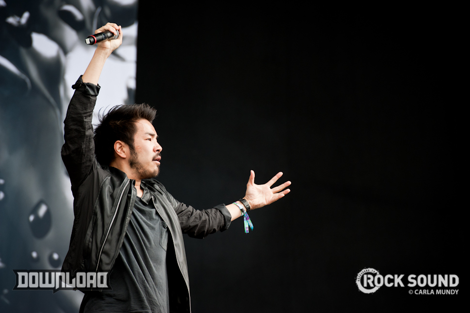 Crossfaith, pulling all of the shapes at Download 2014