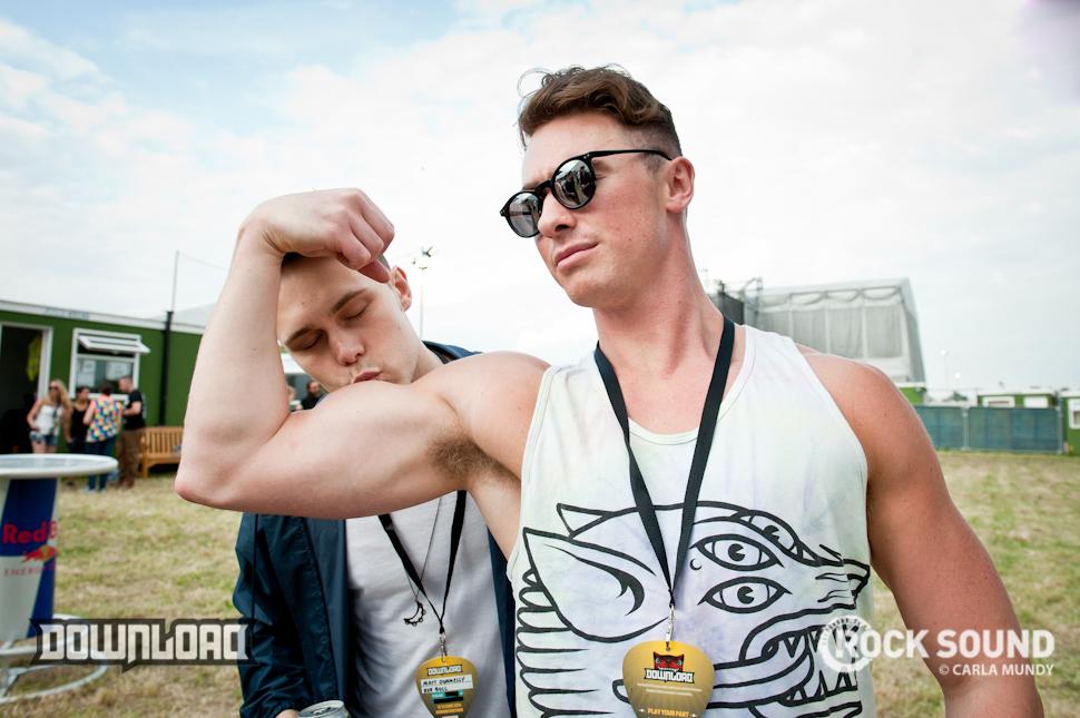 It's not a festival unless Don Broco turn up with the guns, is it?