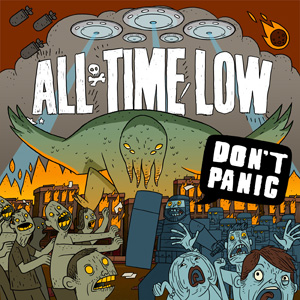 All Time Low - Don't Panic Cover