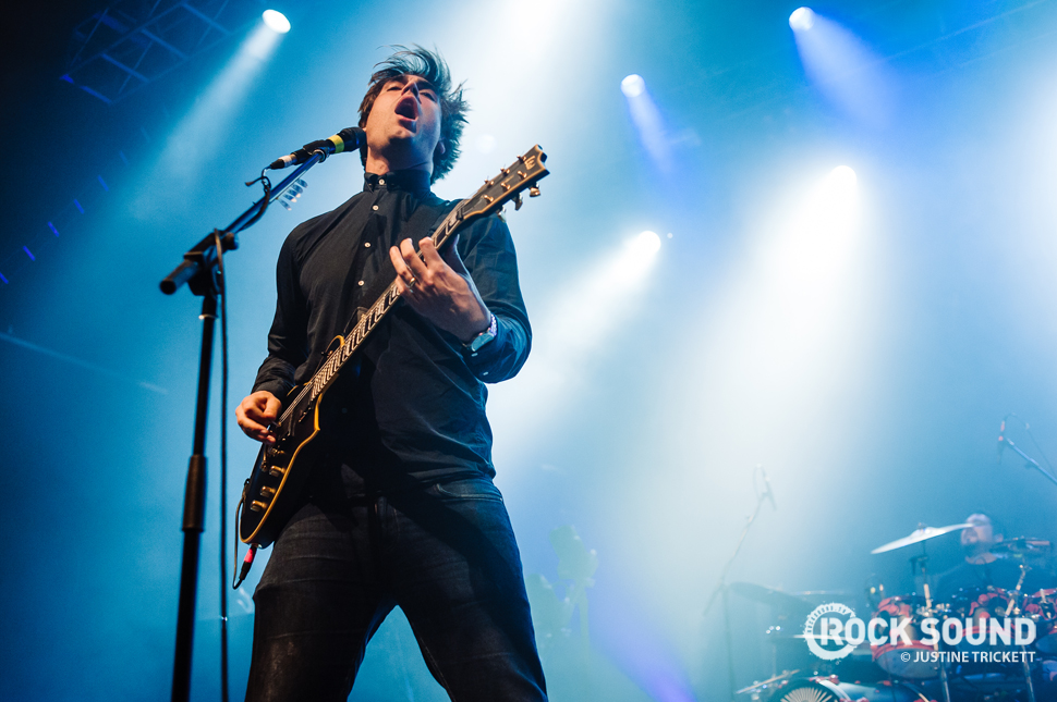 Fightstar make their grand return at London's Forum, December 16, 2014 // Photo credit: Justine Trickett