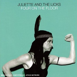 Juliette And The Licks - Four On The Floor Cover
