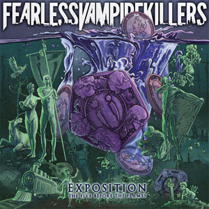 Fearless Vampire Killers - Exposition: The Five Before The Flames Cover