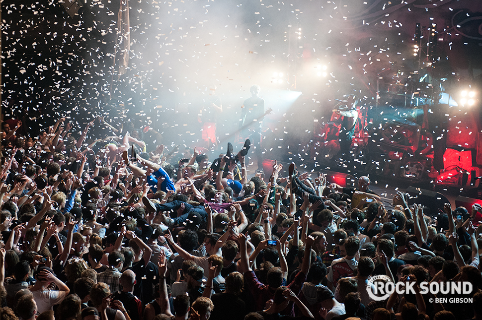 Later in the month, Parkway Drive turned Camden into one giant mosh pit...