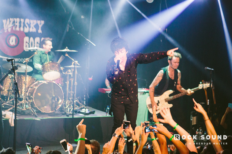 Green Day, Whisky A Go Go, Los Angeles, September 10 // Photo: Brendan Walter