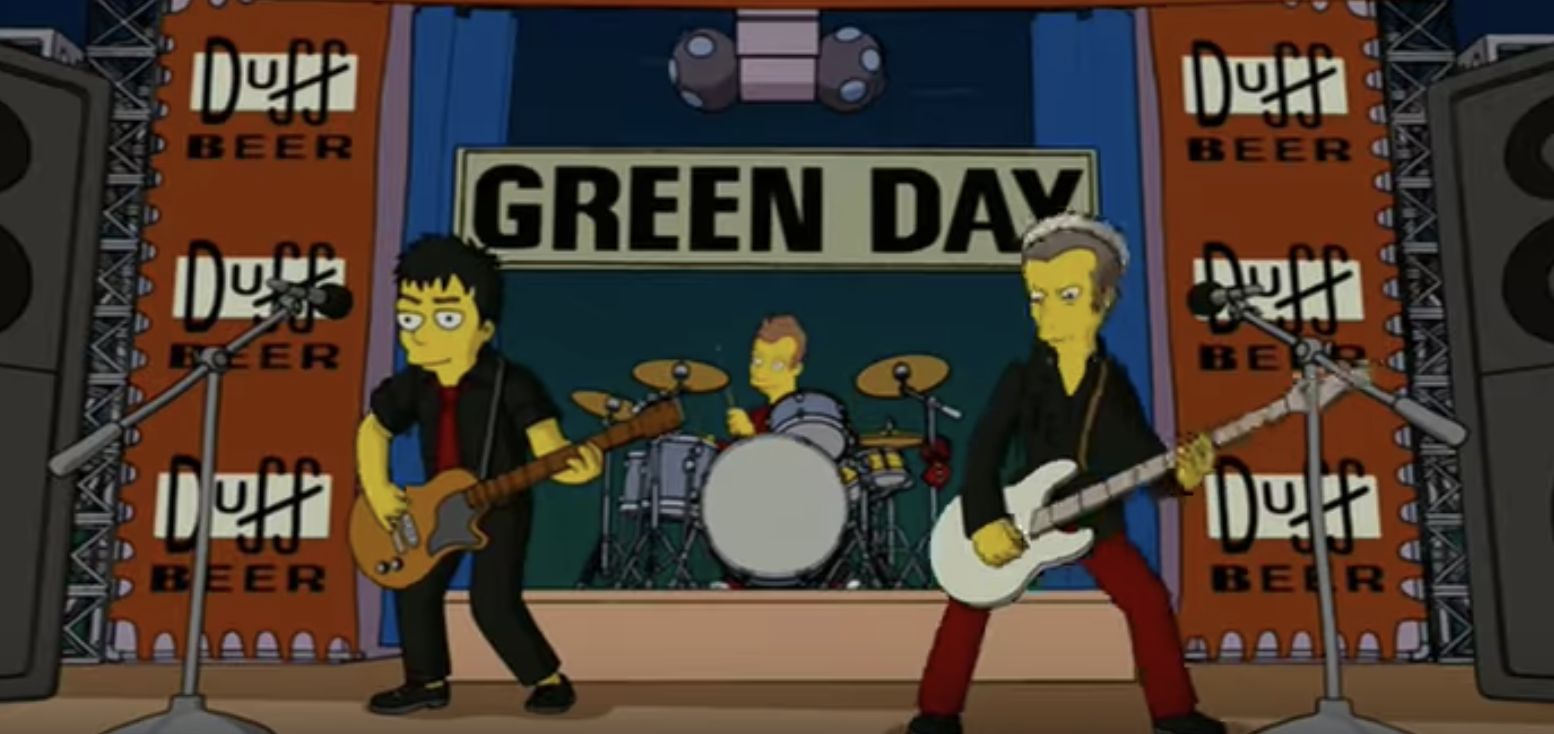 8 Bands That Have Made It On To The Simpsons Features Rock Sound Magazine
