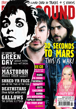 Rocksound - Issue 121 - April 09
