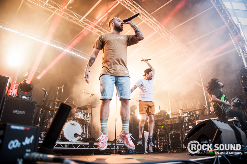 Issues, Slam Dunk North, May 28 2016 // Photo credit: Carla Mundy