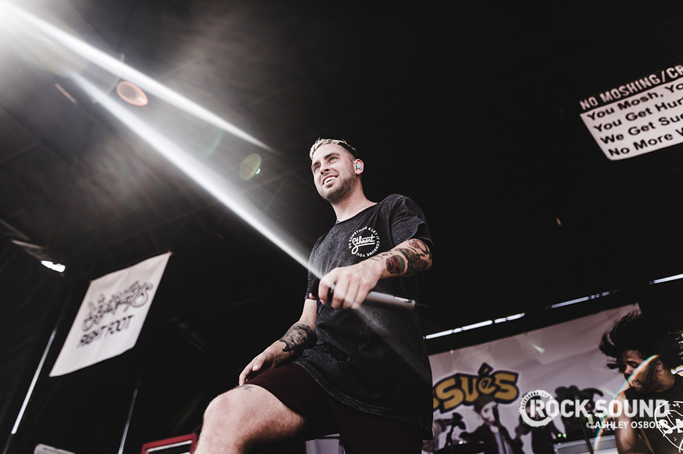 Issues, Vans Warped Tour 2016 // Photo credit: Ashley Osborn
