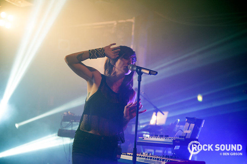 Lights performing at London's Scala, January 29, 2015 // Photo credit: Ben Gibson