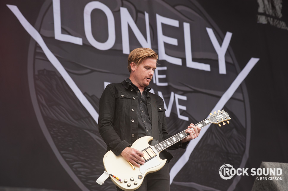 Lonely The Brave, Reading Festival, August 30 // Photo credit: Ben Gibson