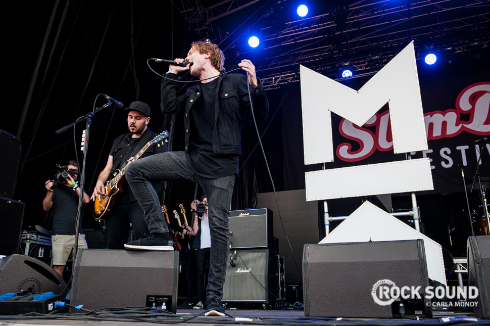 Mallory Knox, Slam Dunk North 2016, May 28 // Photo credit: Carla Mundy