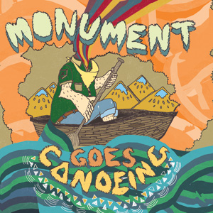 Monument - Goes Canoeing Cover