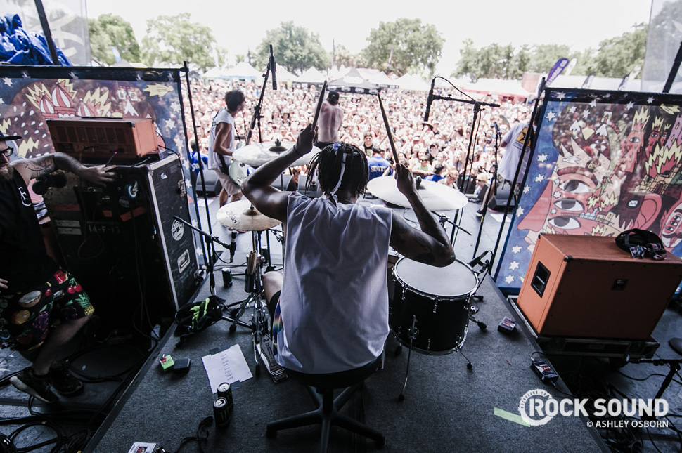 Neck Deep, Vans Warped Tour West Palm Beach, Florida, July 04 // Photo credit: Ashley Osborn