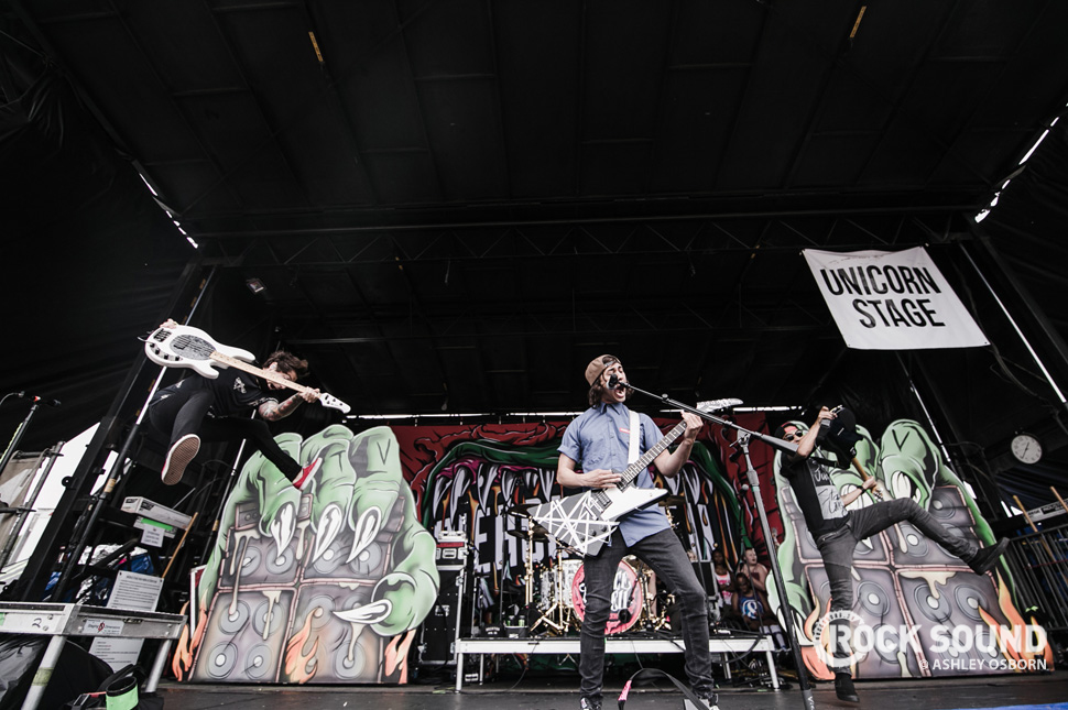Pierce The Veil, Vans Warped Tour West Palm Beach, Florida, July 04 // Photo credit: Ashley Osborn