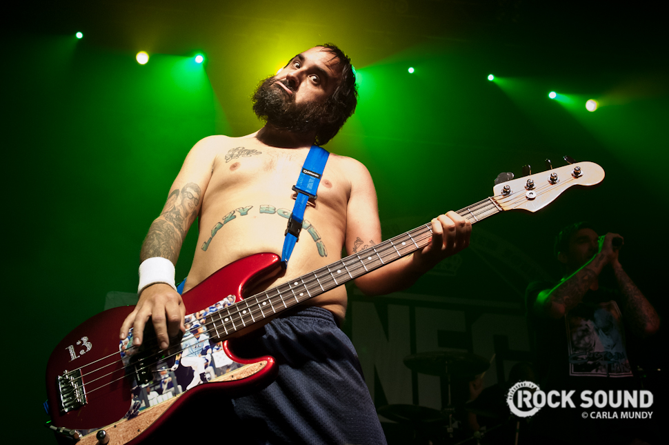 Of course, we had New Found Glory telling us that pop-punk's absolutely not dead in November.