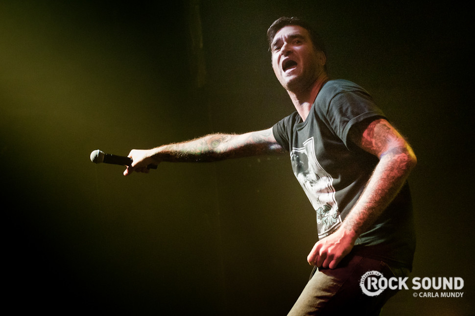New Found Glory on the Pop Punk's Not Dead Tour, Birmingham / Photo credit: Carla Mundy