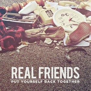 Real Friends - Put Yourself Back Together Cover