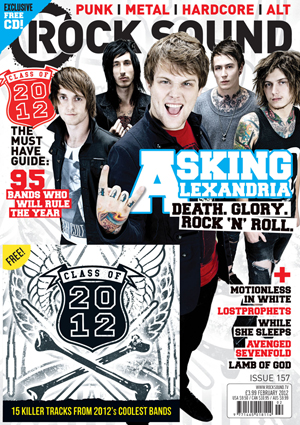 Rocksound - Issue 157 - February 12