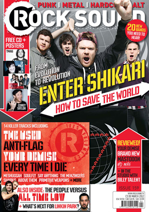 Rocksound - Issue 159 - April 12