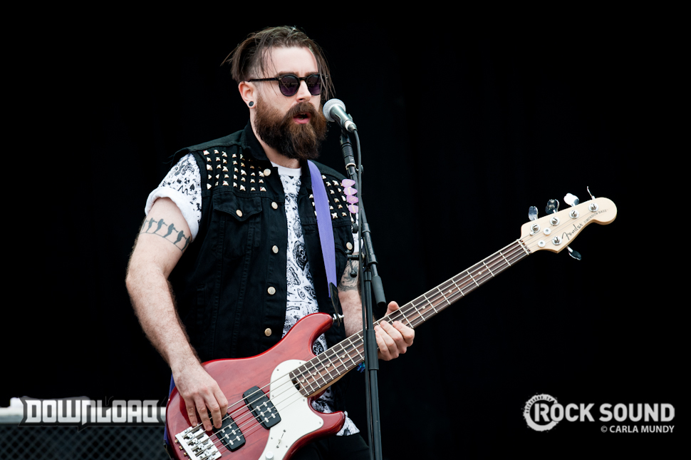 Skindred rocking Download's main stage, June 13, 2014